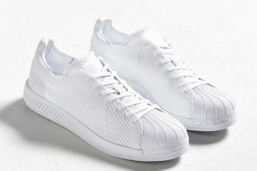 838606b64 Adidas Ups Their Comfort Game With The Superstar Bounce Primeknit ...