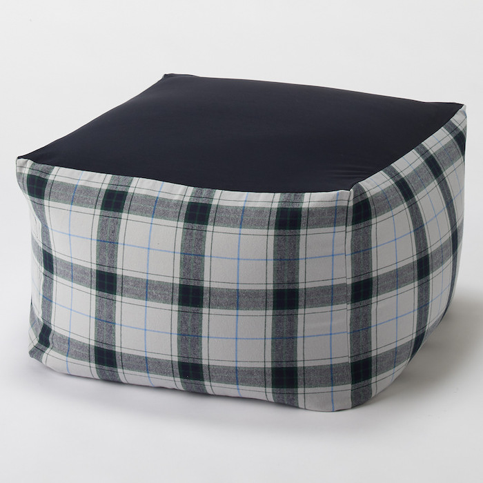 4549738370819_BEADS SOFA COVER CTTWILL GRYPLAID A16