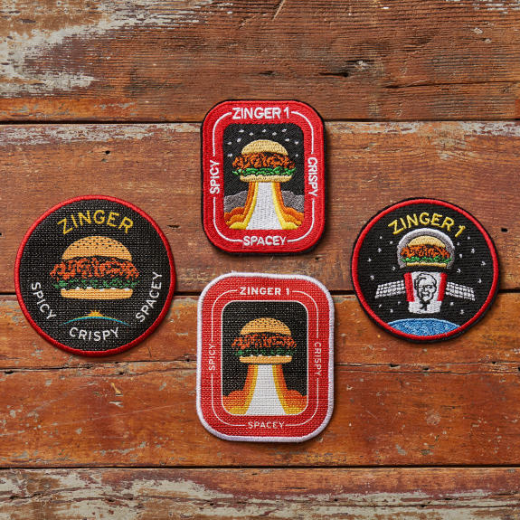 zinger 1 mission badges