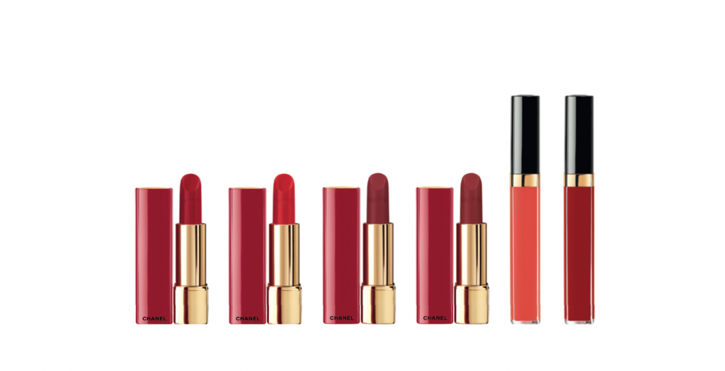 Recreate The Classic Red Lips Look With Chanels Numeros Rouges
